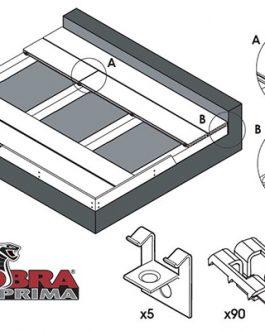 Clips et Vis Prima pour Terrasse SOLTEA